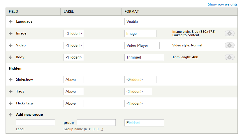 Drupal 7 - Flatize Theme Guide for Developers | WeebPal