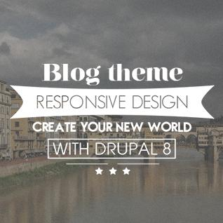 Personal Blog for Drupal 8 Theme