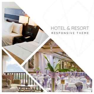Gloriosa - Hotel & Resort Drupal 8 Themes