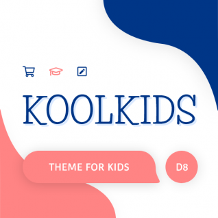 KoolKids - Kid Clothing Store Drupal 8 Theme