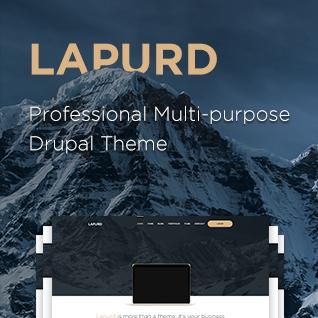 Lapurd - Multipurpose Drupal Theme