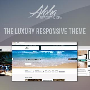 Aloha Resort Drupal Theme