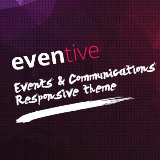 Eventive - Event and Online Booking Drupal Theme