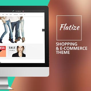Flatize - Shopping & eCommerce Drupal Theme