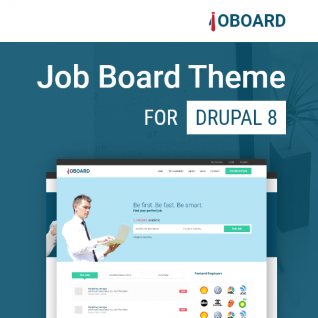 Job Board - Jobs, Career & Hiring Drupal 8 Theme