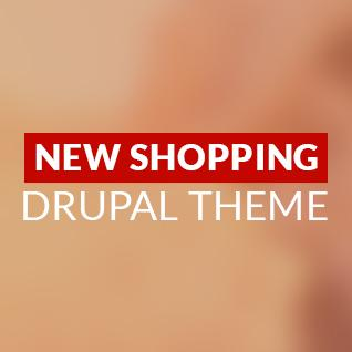 New Shopping Premium Drupal Theme