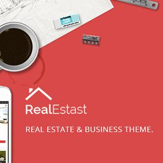 RealEstast - Real Estate & Business Drupal Theme