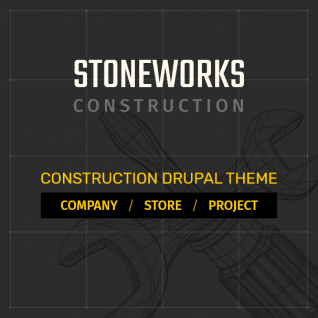 Stoneworks - Construction & Building Drupal 8 Theme