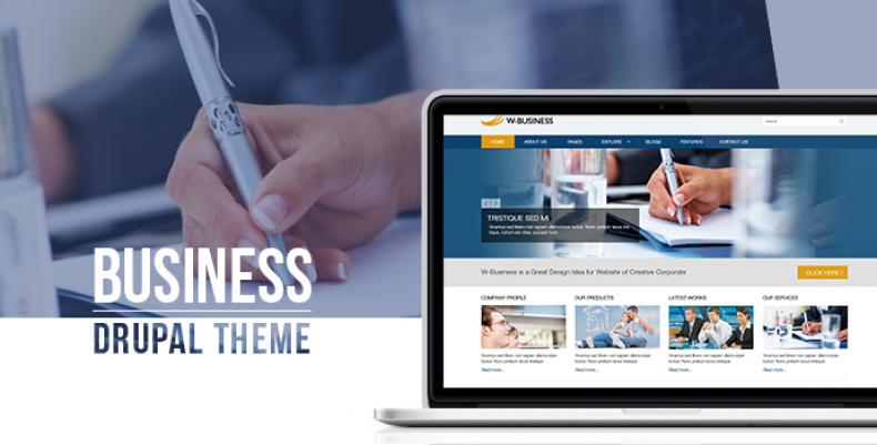 New Company & Corporate theme: Business