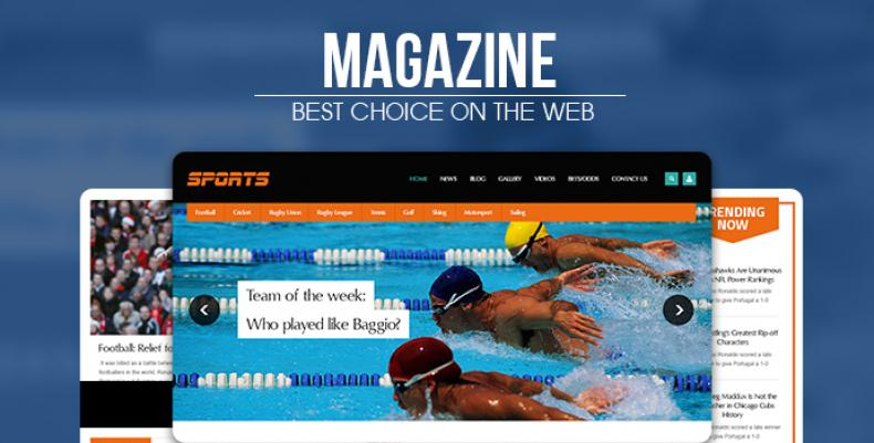 Sport Magazine - Exclusive News Drupal Theme