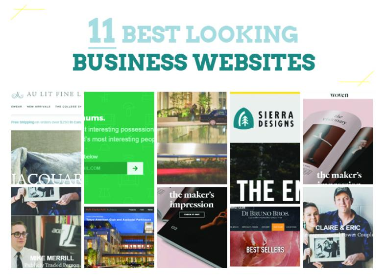 11 Best Looking Business Websites