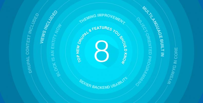 8 New Drupal 8 Features That Make You Want to Use Drupal