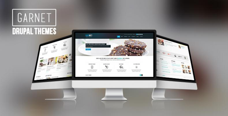Garnet - Newest Drupal theme in town
