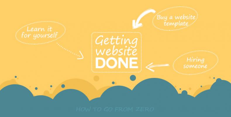 Starting Your Website - 3 Ways to Get It Done