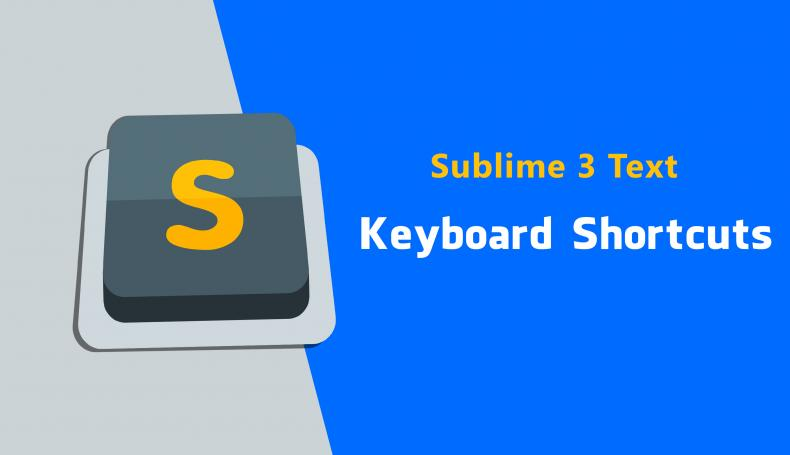 Sublime Text Editor Keyboard Shortcut Cheatsheet for Win, OSX, and Linux